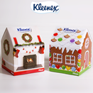 Kleenex Christmas designs