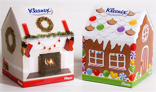 kleenex tissue box designs 2