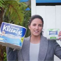 Kleenex Cottonelle NZ urges consumers to get their behinds behind Flushable Cleansing Cloths