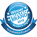 Poise® Depend® Recognised at 2018 Reader's Digest Trusted Brand Awards