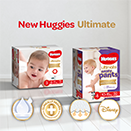 Huggies® launches new and improved Huggies® Ultimate range